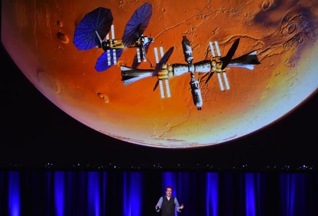 Binnen 10 jaar ook mensen op Mars