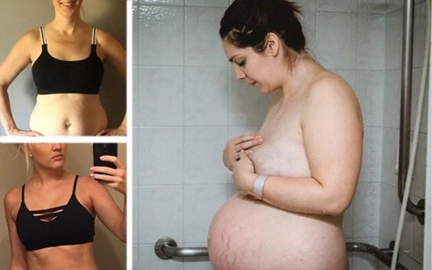 Ook deze mama's tonen hun lichaam net na de bevalling