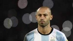Mascherano neemt in Rusland afscheid van Argentijnse nationale elftal