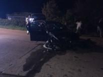 Automobilist vliegt uit bocht en knalt tegen omheining in Eigenbilzen
