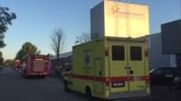 Brandweer rukt uit voor salpeterzuurlek bij Friesland Campina in Bree