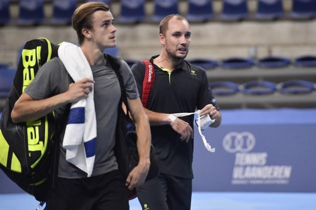 """Darcis en De Greef in koor na verloren match op European Open: """"Na zo'n wedstrijd verliezen is balen"""""""
