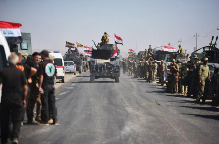 Iraaks leger bezet Kirkoek