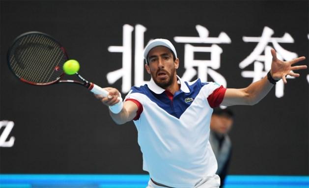 Zesde reekshoofd Pablo Cuevas is niet opgewassen tegen Griekse kwalificatiespeler op European Open