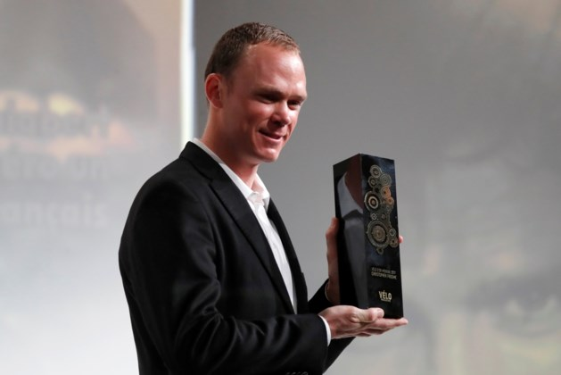 Chris Froome wint derde Vélo d'Or