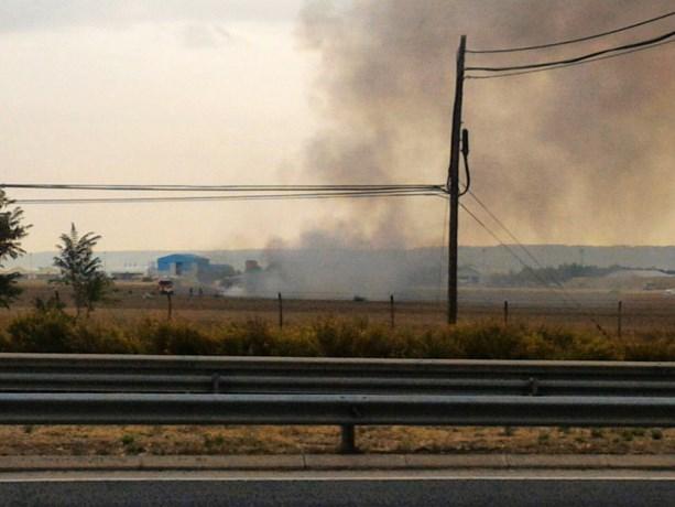 Gevechtsvliegtuig crasht in de buurt van Madrid: piloot overleden