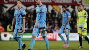 Charleroi verliest punten in Lokeren dreigt aansluiting met leider Club Brugge te verliezen