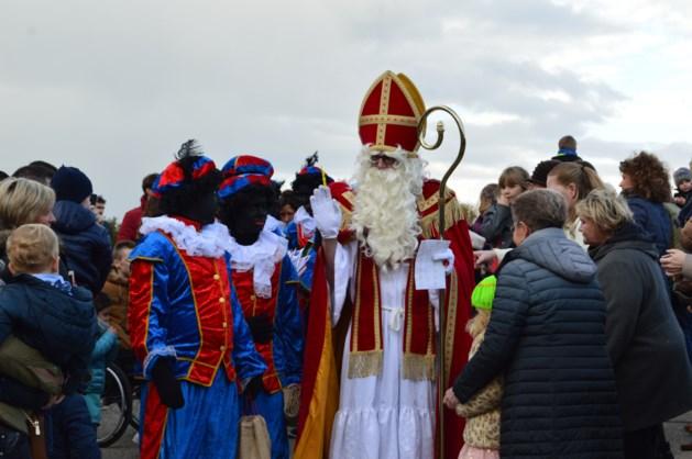 Intrede Sinterklaas in Stokrooie