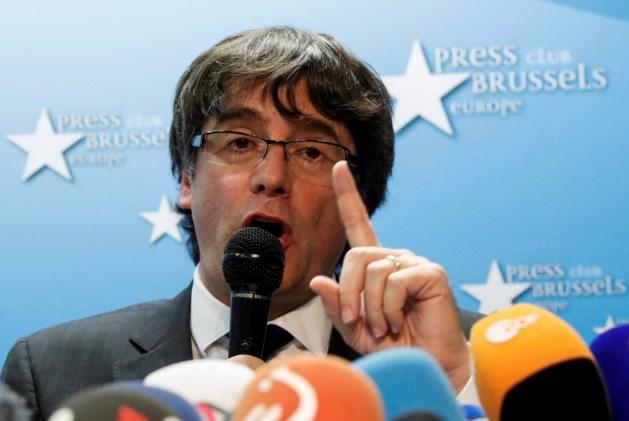"""Puigdemont: """"Andere oplossing dan onafhankelijkheid is mogelijk"""""""