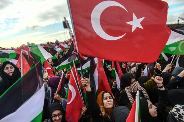 """Erdogan noemt Israël """"terroristische staat"""" en """"kindermoordenaar"""""""