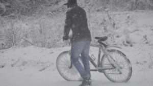 Mag ik als fietser op de rijbaan als het sneeuwt?