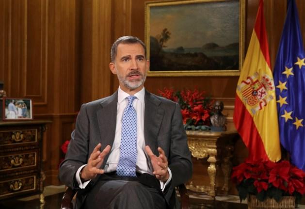 Spaanse koning hoopt dat Catalaanse verkozenen 'nieuwe confrontatie vermijden'