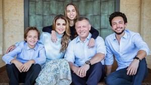 Koningin Rania deelt familieportret via Instagram
