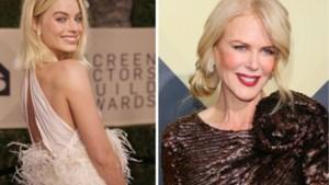 Van pluimen tot transparante laagjes: de mooiste jurken op de SAG Awards