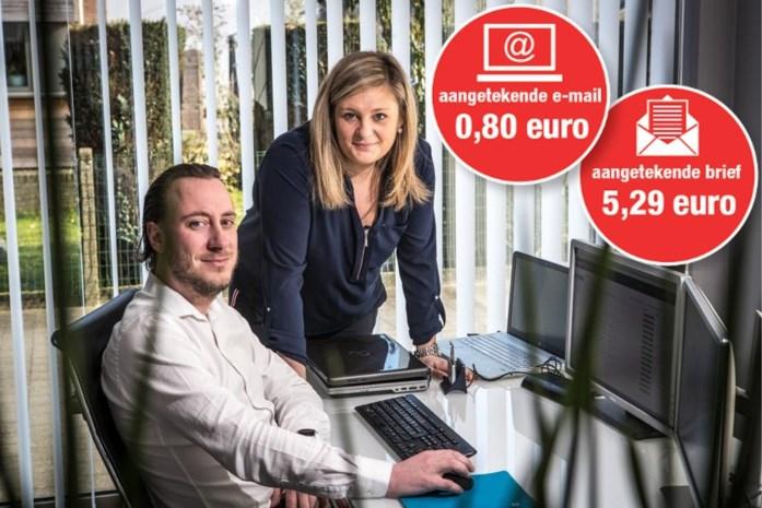Limburgs bedrijf als eerste aanbieder: aangetekende zending kan nu ook via e-mail
