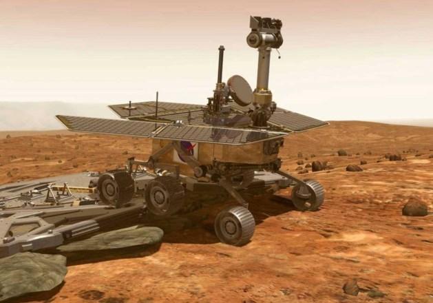 Jeep Opportunity rijdt al 5.000 dagen op Mars en overleefde al acht winters
