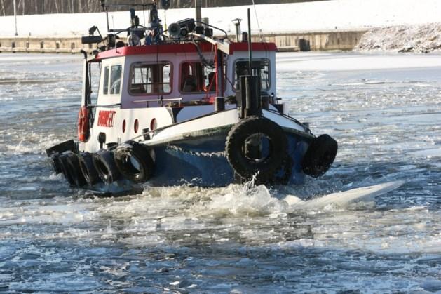 IJsbreker moet in actie komen op kanaal Bocholt-Herentals