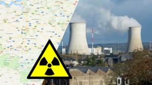 KAART. Woon jij in een nucleair risicogebied?