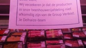 Delhaize en Colruyt zetten samenwerking met omstreden vleesbedrijf onmiddellijk stop