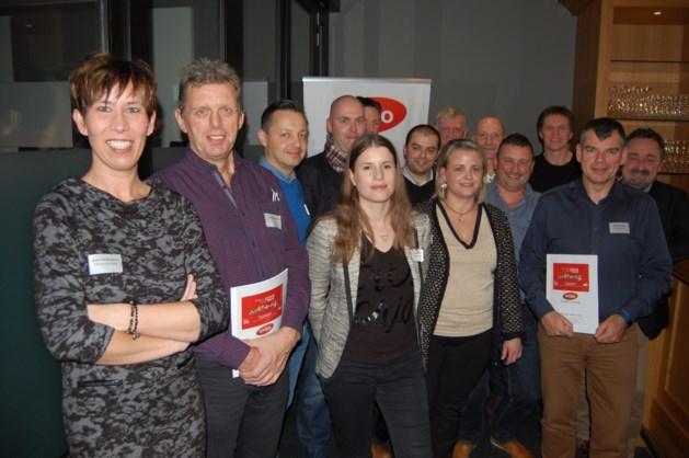 UNIZO Houthalen-Helchteren overhandigt ondernemersprioriteiten