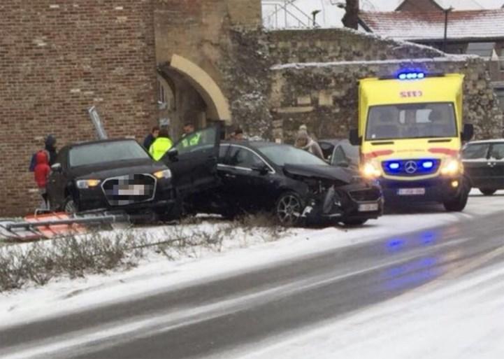 Gladde wegen zorgen voor heel wat slippartijen in Limburg
