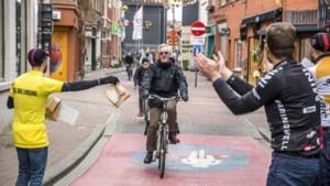 Een applausje voor de fietser