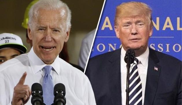 """Trump bedreigt ex-vicepresident Biden: """"Hij zou huilen als ik hem aanval"""""""
