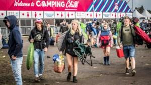 Afvalwaarborg op Pukkelpop, camping Chill kost nu 25 euro