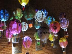 Leerlingen Hagelandse academie toveren de citadel om tot een ware kunsttempel