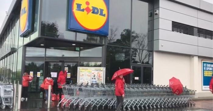 Opnieuw blokkades bij Lidl in Genk: Aan distributiecentrum en winkel Hasseltweg