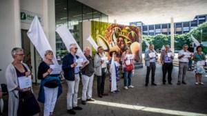 Ook in Hasselt stiltecirkel voor 70ste verjaardag Palestijnse kwestie