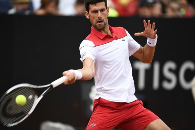 Tweede overwinning op rij voor Novak Djokovic op ATP-toernooi Rome