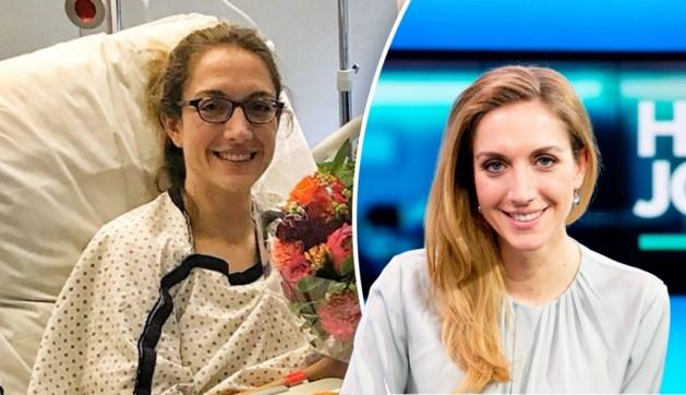 Nieuwslezeres Hanne Decoutere (38) opgenomen in ziekenhuis