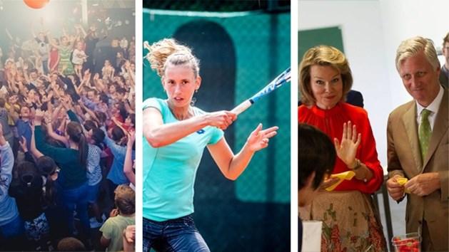 Het koningspaar, Elise Mertens en feestende kinderen. Dit zijn de strafste video's van deze week.