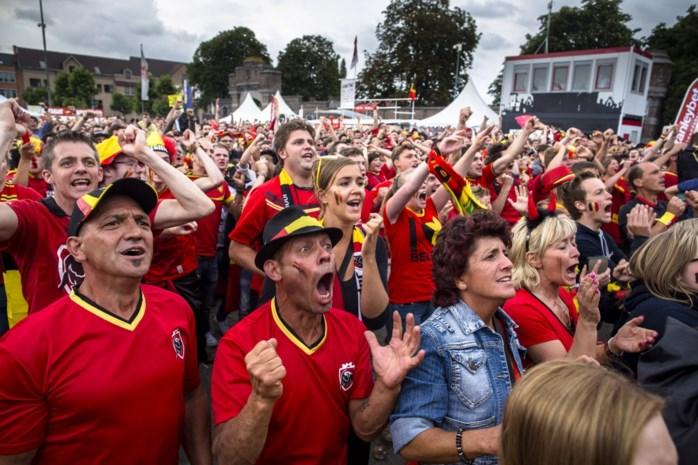 Rode Duivels op groot scherm: hier vinden de Limburgse WK-feestjes plaats