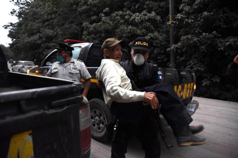 Minstens 25 doden bij vulkaanuitbarsting in Guatemala