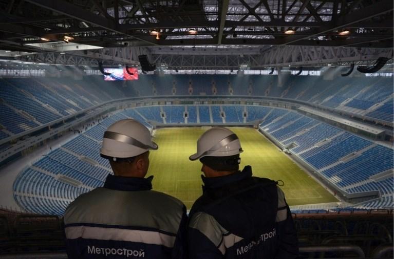 WK 2018 Rusland: speelsteden en stadions