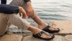 Deze sandalen voor mannen mogen deze zomer wel