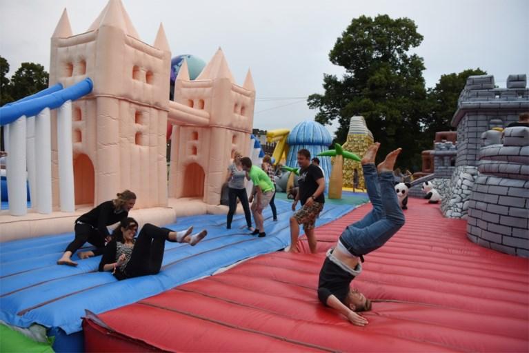 Springkastelenfestival voor volwassenen komt terug, inclusief ballenbad