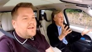 Tranen van ontroering en plezier: Carpool Karaoke met Paul McCartney overtreft al de voorgaande