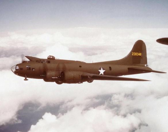 Amerikaanse B17-bommenwerper ontdekt op de bodem van Noordzee