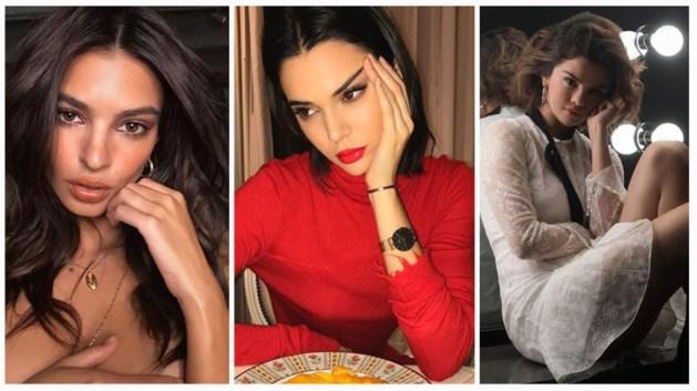 Sterren lijken strakker dankzij de 'migraine pose' op Instagram