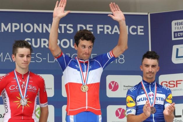 Na twee ereplaatsen: Anthony Roux verovert Franse driekleur