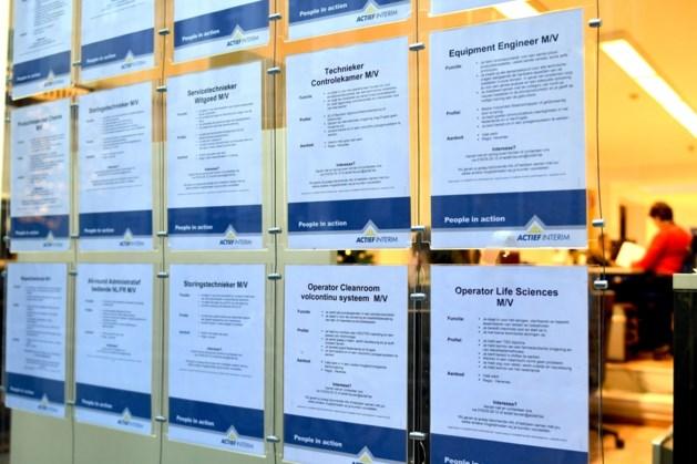 Werkloosheidsgraad in Vlaanderen blijft zakken