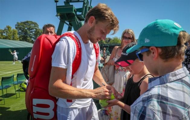 """Goffin was er vorig jaar niet bij op Wimbledon, nu wil hij scoren: """"Dit is het mooiste toernooi"""""""