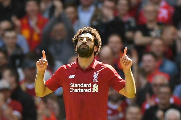 Goudhaantje Salah verzilvert zijn knalseizoen bij Liverpool
