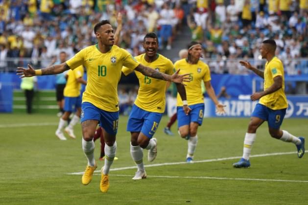 Rode Duivels weten wie hen opwacht in mogelijke kwartfinale: Neymar knalt Brazilië langs Mexico met goal en assist