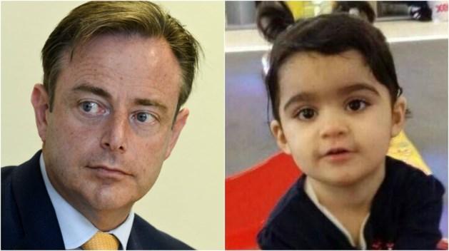 "De Wever: ""Premier heeft ouders Mawda in slachtofferrol geduwd"""