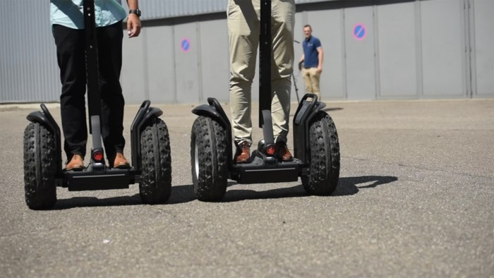 Segway City Tours opent in Hasselt