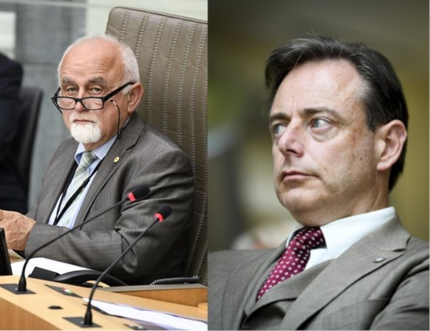 """De Wever en Peumans houden verzoeningsgesprek: """"Jan is een vriend en hij blijft een vriend"""""""
